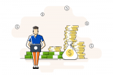 blogger-monetizing-his-blog-illustration