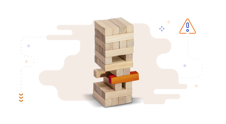 What are the threats of email monetization. Wooden block balance.